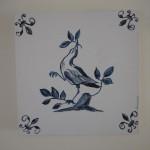 Bird - Acrylics on canvas 25cmx25cm