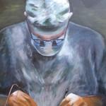 Diathermy - Acrylics on canvas – 50cm x 60cm