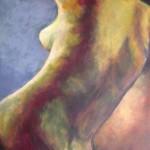 Fransesca Da Rimini - Acrylics on canvas 51cmx76cm