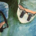 Loupes - Acrylics on Canvas Board - 50cm x 60cm