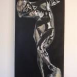 Meditation - Acrylics on canvas – 46cm x 91cm