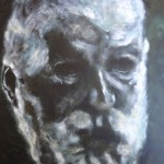 Rodin - Acrylics on canvas 51cmx76cm