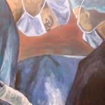 Surgery - Acrylics on canvas – 55cm x 70cm