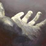 Helping Hand - Acrylics on Canvas - 56cm x 71cm