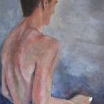 Robert - Acrylics on Canvas - 61cm x 91cm