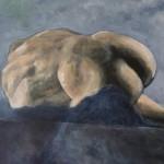 Danaide - Acrylics on Canvas - 56cm x 71cm